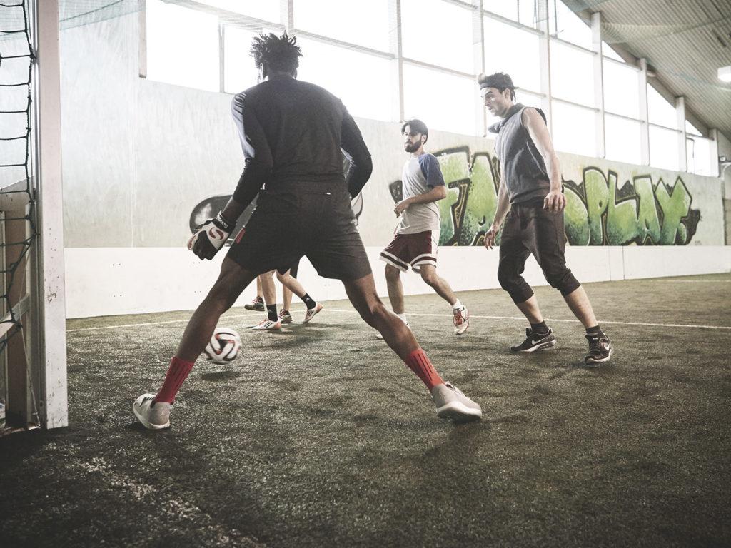 Männer beim Sport